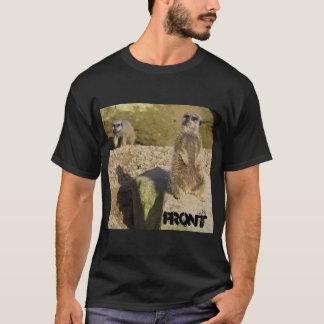 Meerkat Front & Back T T-Shirt