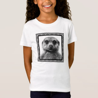 Meerkat Girls Baby Doll T-Shirt