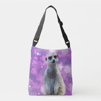 Meerkat_Glitter-Ball,_Full_Print_Cross_Body_Bag Crossbody Bag