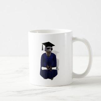 Meerkat Graduate Basic White Mug