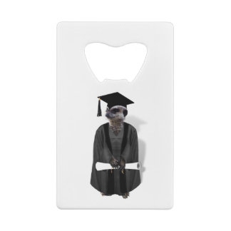 Meerkat Graduate W/Grey Gown & Black Sash