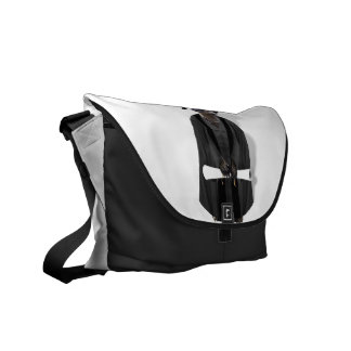 Meerkat Graduate W/Grey Gown & Black Sash Messenger Bags