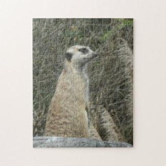 Meerkat Guard Jigsaw Puzzle