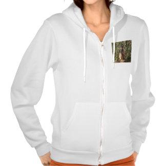 Meerkat_Guard_Ladies_Winter_Hoodie. Hooded Pullovers