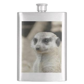 Meerkat Hip Flask