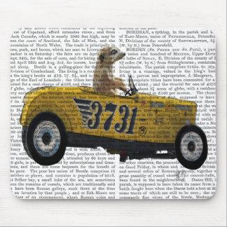 Meerkat in Hot Rod 2 Mouse Mat