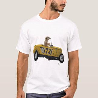 Meerkat in Hot Rod 2 T-Shirt