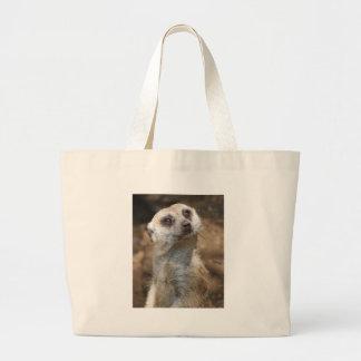 Meerkat Large Tote Bag