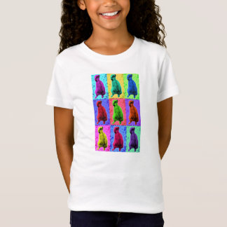 Meerkat Looking Up Pop Art Popart Multi-Panel T-Shirt