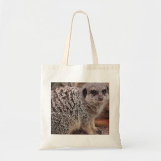 Meerkat madness tote bag