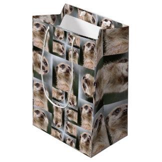 Meerkat Medium Gift Bag
