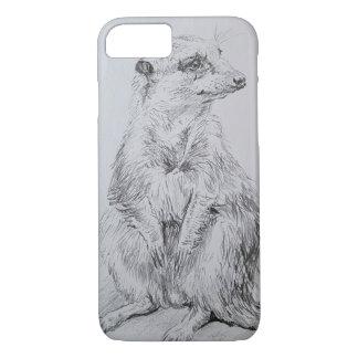 Meerkat on a i-phone 7 case