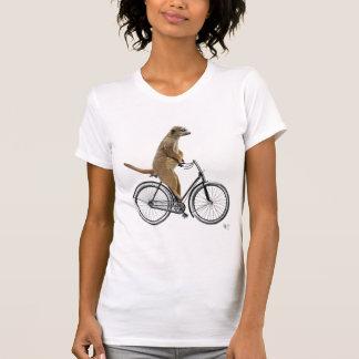 Meerkat on Bicycle T-Shirt
