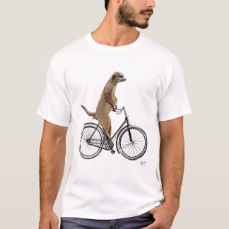 Meerkat on Bicycle T-Shirt