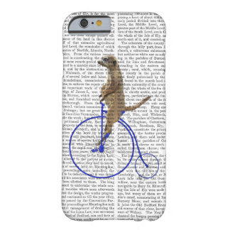 Meerkat On Blue Penny Farthing Barely There iPhone 6 Case