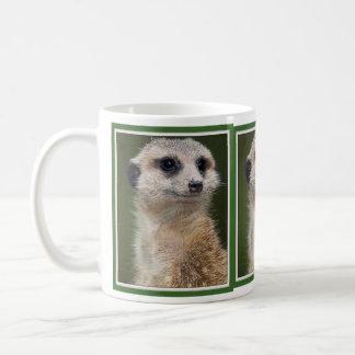 Meerkat on the look out coffee mug