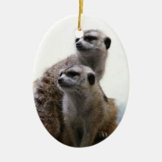 Meerkat Pair Ornament