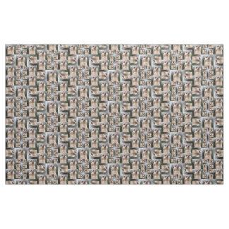 Meerkat Pattern Fabric