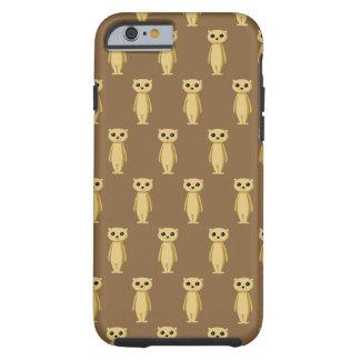 Meerkat Pattern. Tough iPhone 6 Case