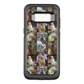 Meerkat Photo Collage, Samsung Galaxy S8 Case.
