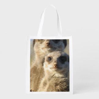 Meerkat Grocery Bag