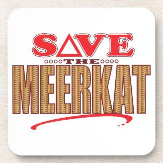 Meerkat Save Coaster