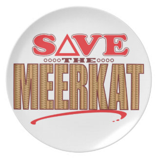 Meerkat Save Plate