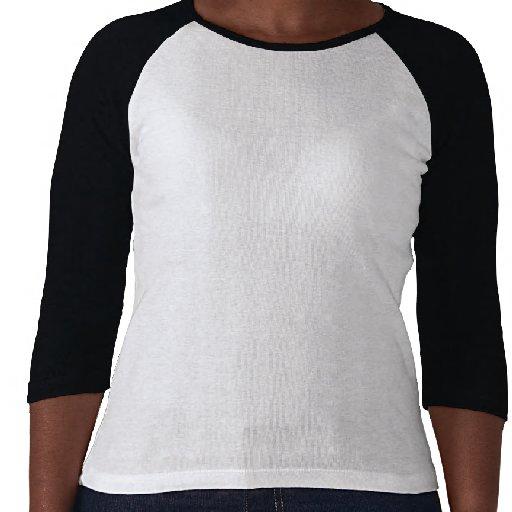 Meerkat Snowflake Ladies Raglan T-Shirt