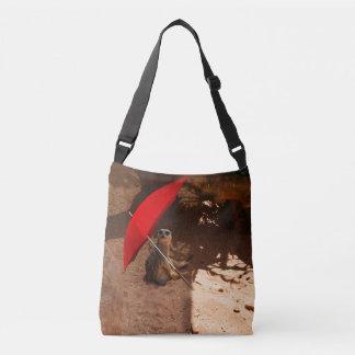 Meerkat Sun Smart, Full Print Cross Body Bag