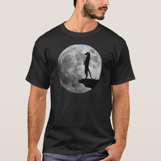 meerkat suricat erdmännchen mond moon T-Shirt