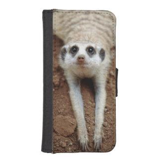 Meerkat (Suricata Suricatta) Cooling Down iPhone SE/5/5s Wallet Case