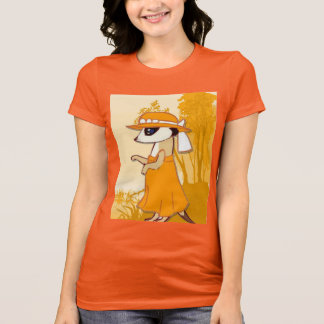 Meerkat T shirt, best dressed meerkat gold T-Shirt