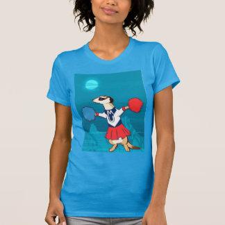 Meerkat T shirt,  Cheerleader in the moonlight T-Shirt