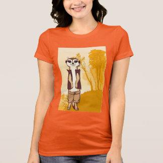 Meerkat T shirt, On the veldt T-Shirt