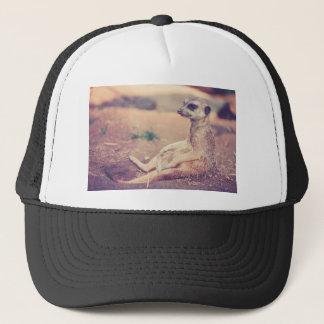 Meerkat Trucker Hat