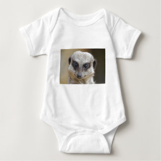 Meerkat Up Close Baby Bodysuit