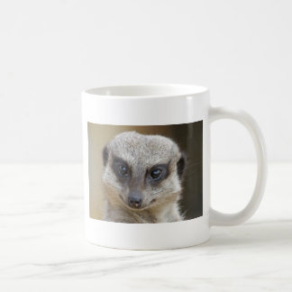 Meerkat Up Close Coffee Mug