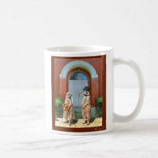 Meerkat Wedding Coffee Mug