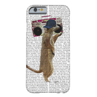 Meerkat with Boom Box Ghetto Blaster 2 Barely There iPhone 6 Case
