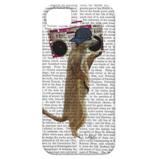Meerkat with Boom Box Ghetto Blaster 2 iPhone 5 Case