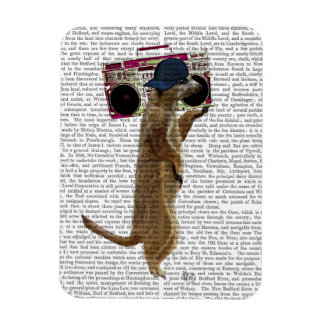 Meerkat with Boom Box Ghetto Blaster 2 Magnet