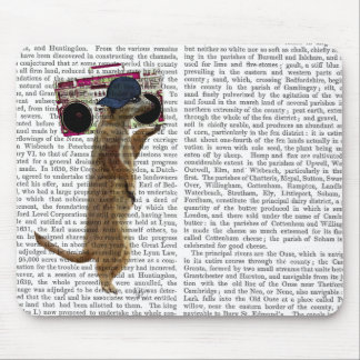 Meerkat with Boom Box Ghetto Blaster 2 Mouse Mat