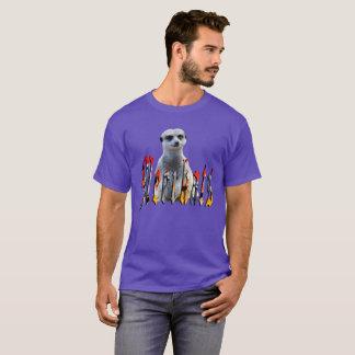 Meerkat With Meerkats Logo, T-Shirt