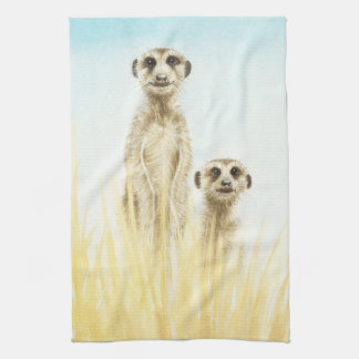 Meerkats American MoJo Kitchen Towel