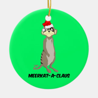 meerkats christmas ornament