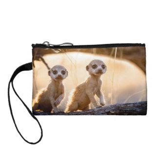 Meerkats key/coin purse change purse