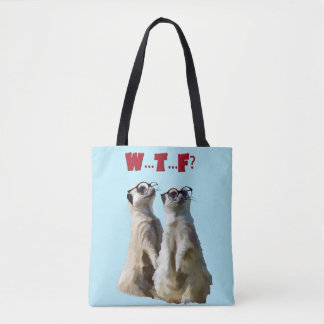 Meerkats on Patrol Tote Bag
