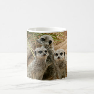 Meerkats on the lookout coffee mug