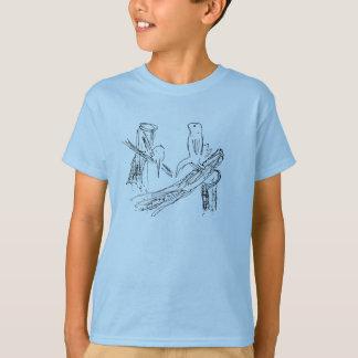 Meerkats print T-Shirt