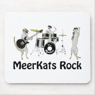 Meerkats Rock the House Mouse Mat
